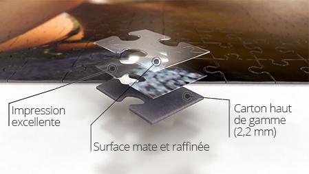 Qualité puzzle photo