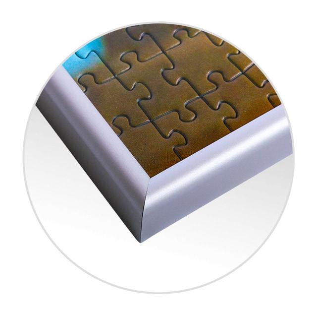 Cadre pour puzzle en detail