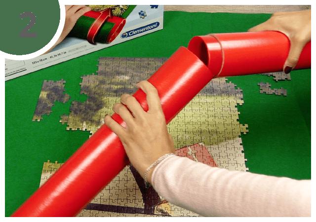 Instructions pour le tapis pour puzzle - étape 2