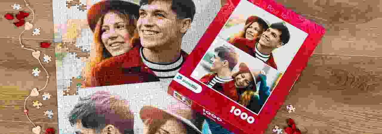 Puzzle Photo pêle-mêle paire