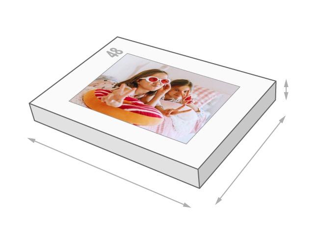Dimensions de la boîte du puzzle - Puzzle photo 48 pièces
