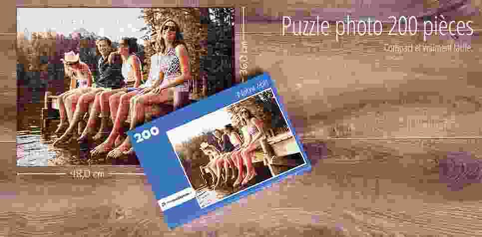 Puzzle photo avec 200 pièces
