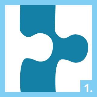 Instructions d'utilisation de la colle pour puzzle Étape 1