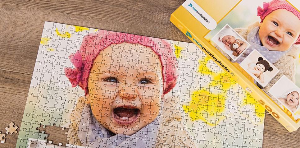 Teaser: Puzzle Photo pêle-mêle avec Arrière-plan personnel