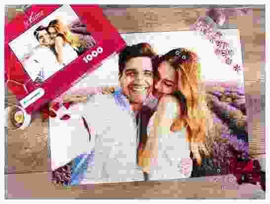 Cadeaux photo pour la Saint-Valentin