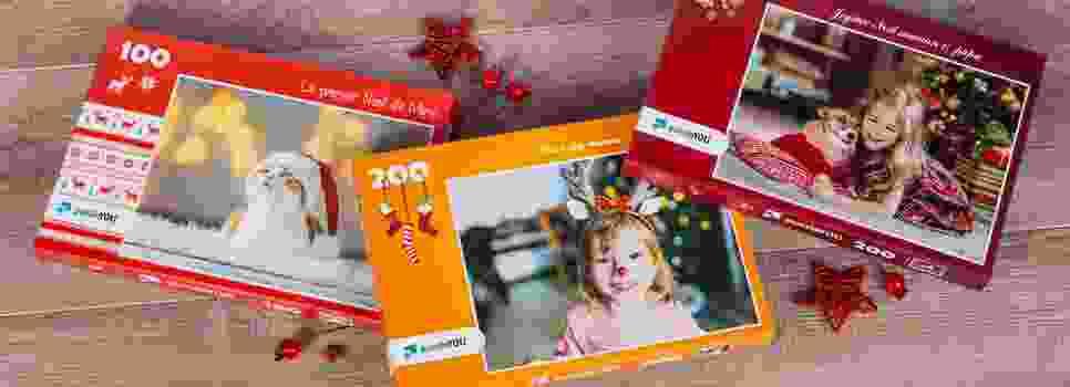 Boîtes à puzzle spéciales sur le thème de Noël