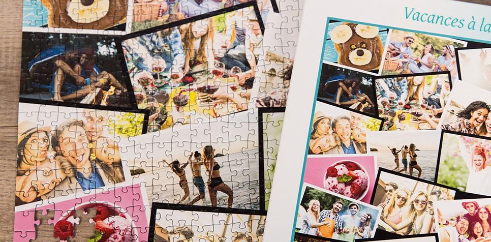Teaser: Puzzle Photo pêle-mêle avec Chevauchement
