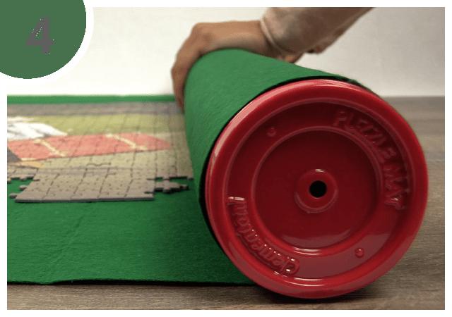 Instructions pour le tapis pour puzzle - étape 4