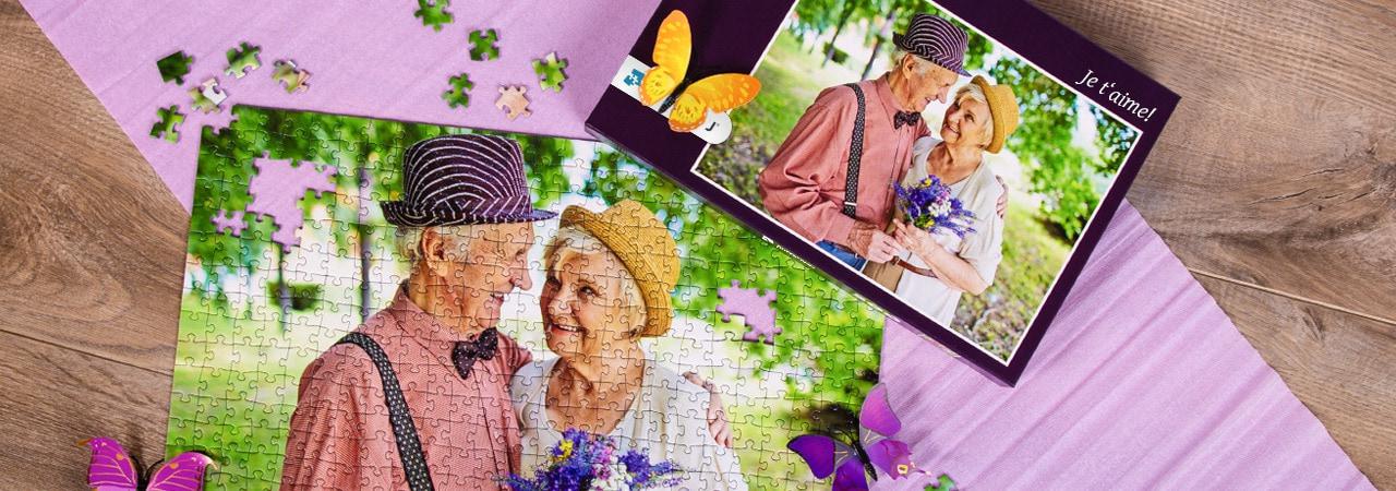 Cadeaux de la Saint-Valentin avec photos