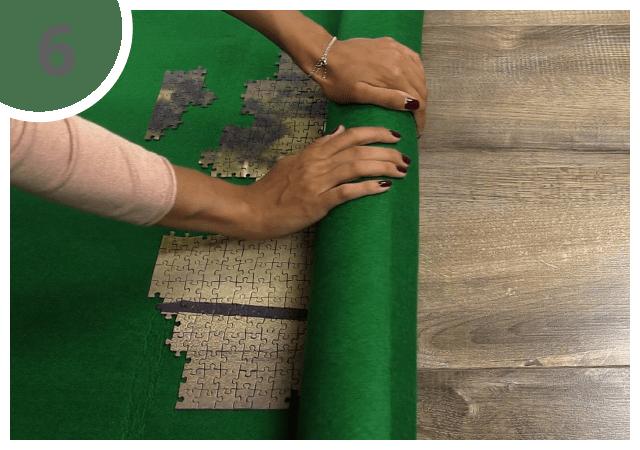 Instructions pour le tapis pour puzzle - étape 6