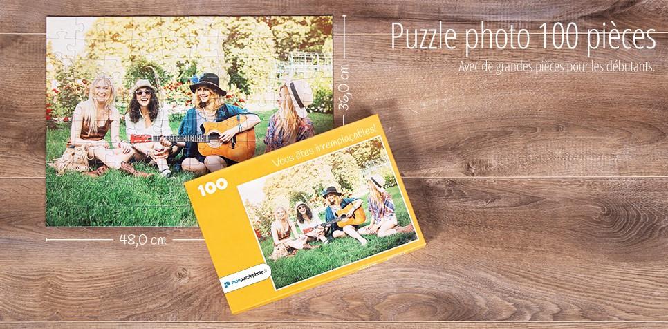 Puzzle photo avec 100 pièces
