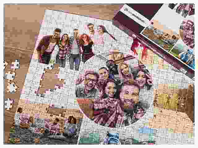 puzzle avec collage de photos