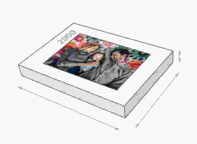 Dimensions de la boîte du puzzle - Puzzle photo 2000 pièces