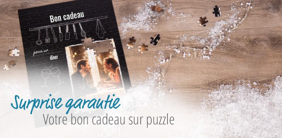 Puzzle Bon Cadeau Restaurant