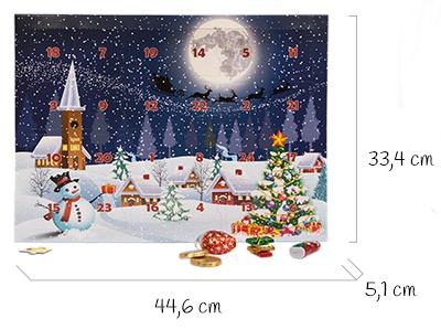 Dimensions calendrier de l'Avent puzzle