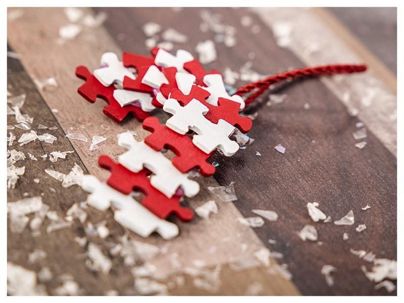 Bricoler décoration de Noël sucre d'orge