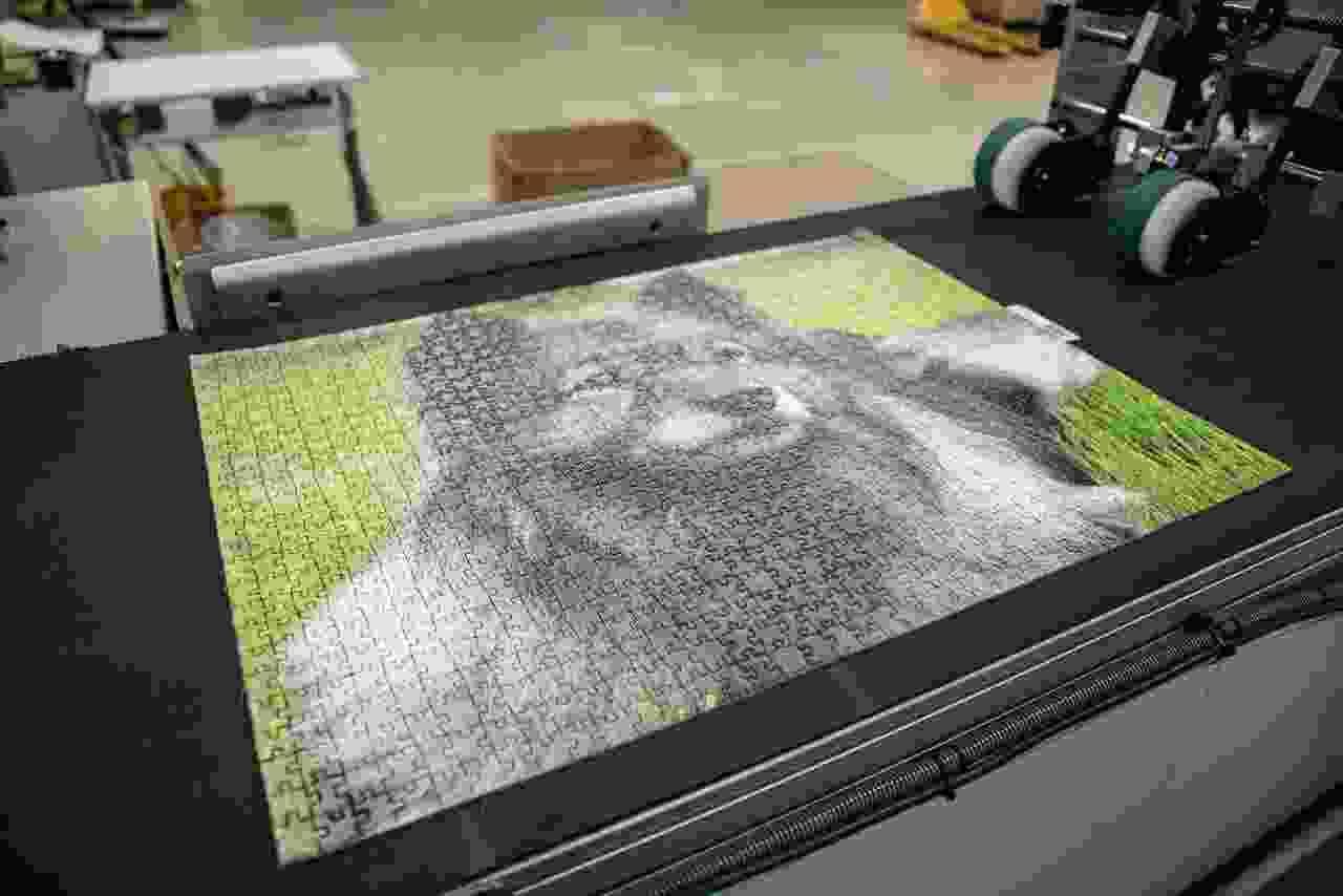 Découpe du puzzle photo