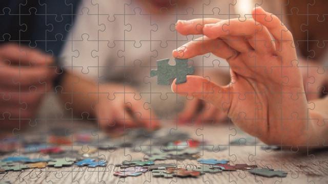 Les puzzles favorisent la motricité & perspicacité