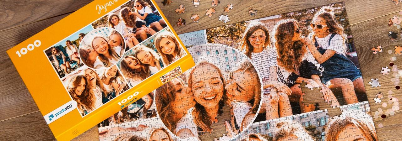 Puzzle Photo pêle-mêle amis