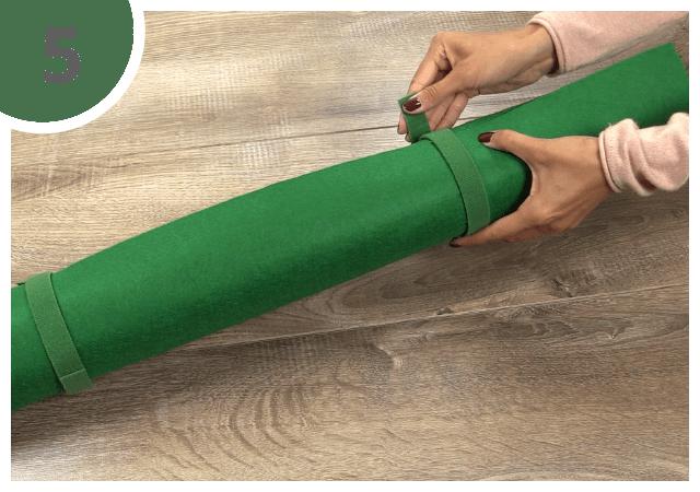 Instructions pour le tapis pour puzzle - étape 5
