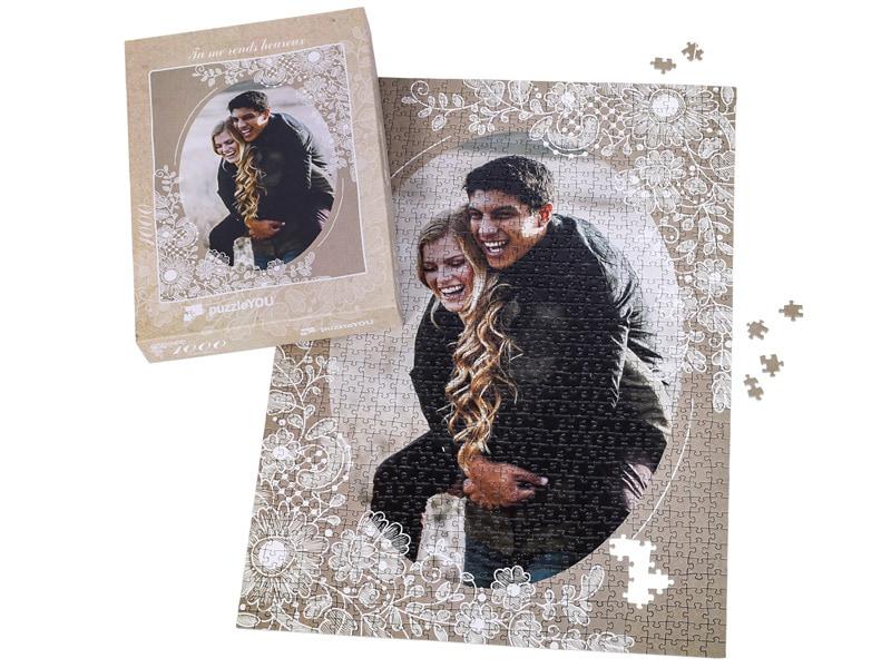 Boîte du puzzle photo 1000 pièces