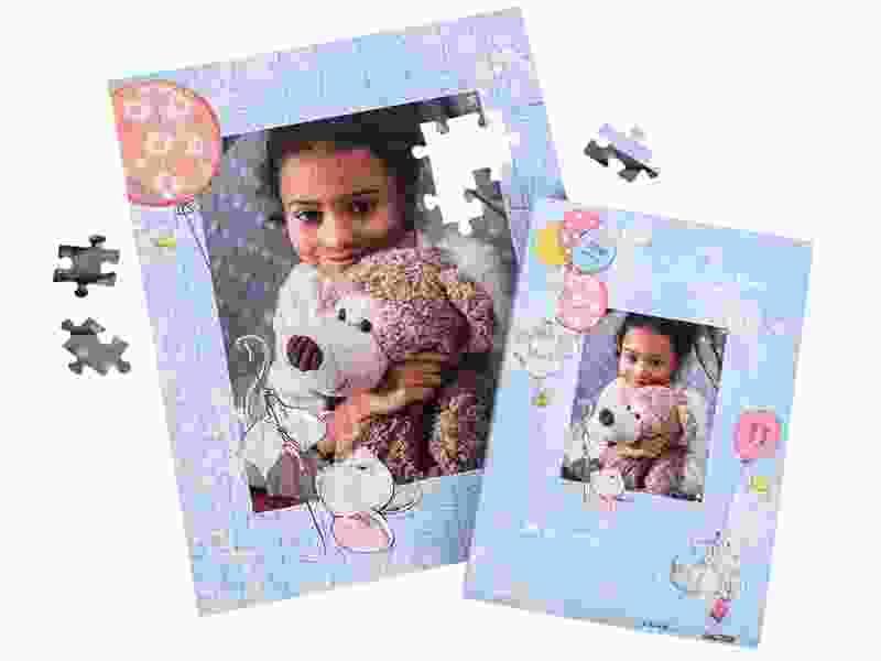 Boîte du puzzle photo 100 pièces