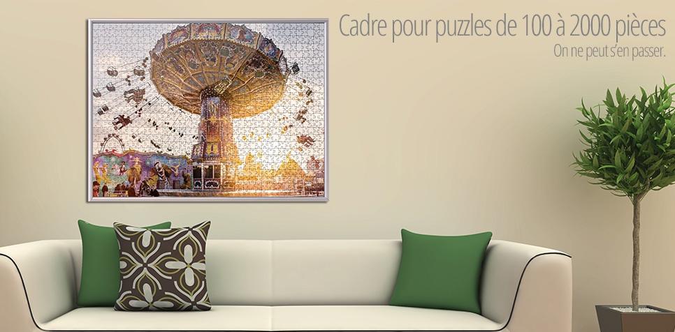 Cadre pour puzzle de 100 à 2000 pièces