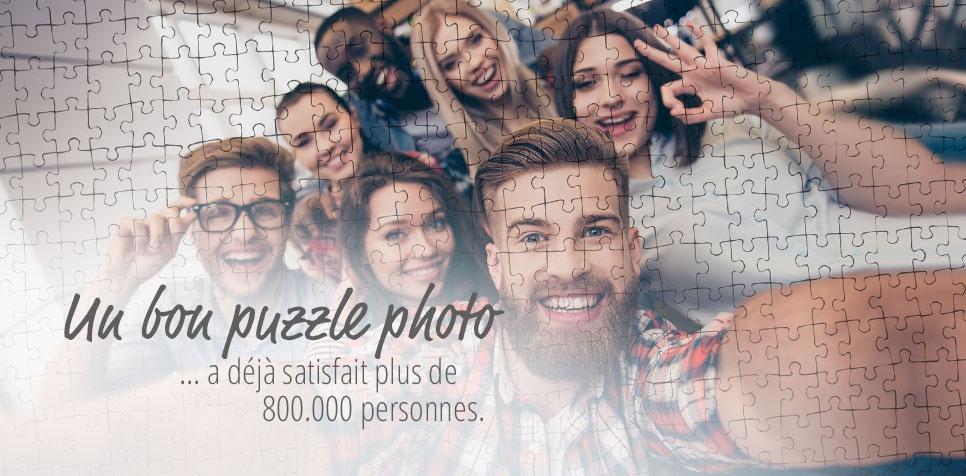 Puzzle Photo: personnes satisfaites
