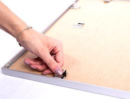 Mode d`emploi cadre pour puzzle 6ème étape