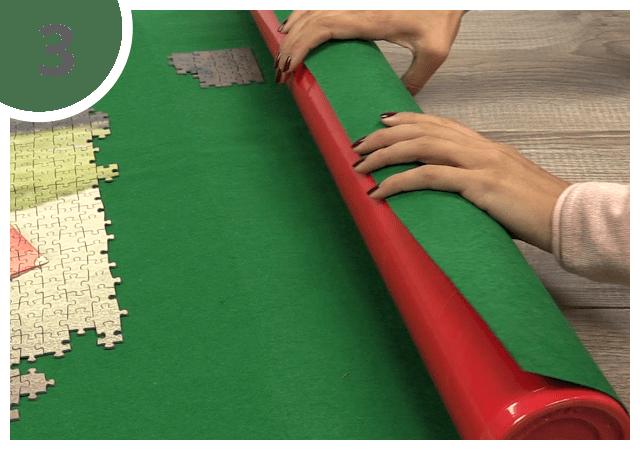 Instructions pour le tapis pour puzzle - étape 3
