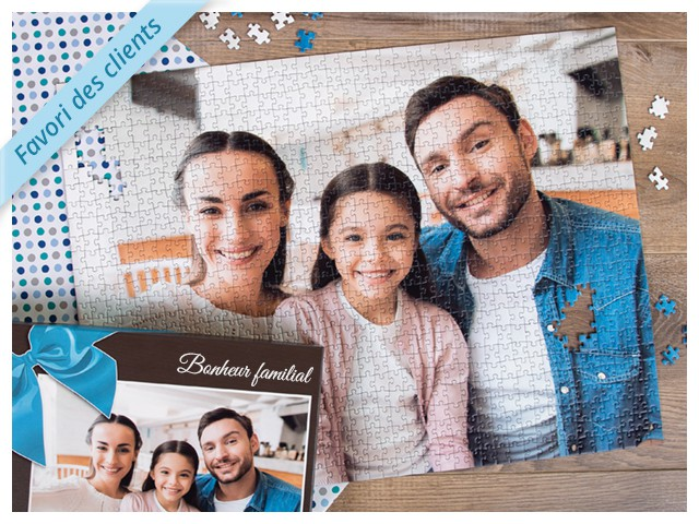 cadeaux photo  photo puzzle