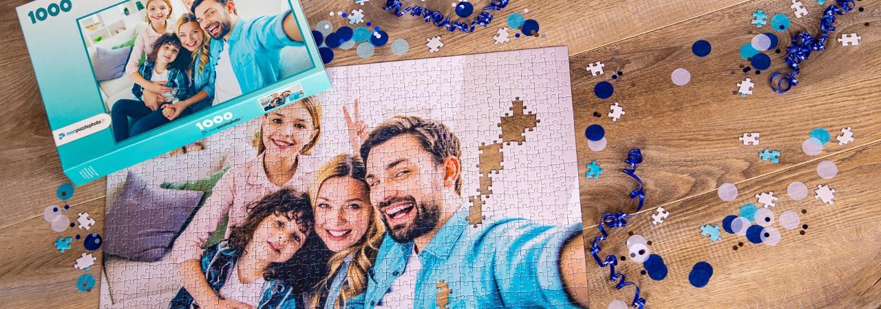 Retenir le moment avec un puzzle photo