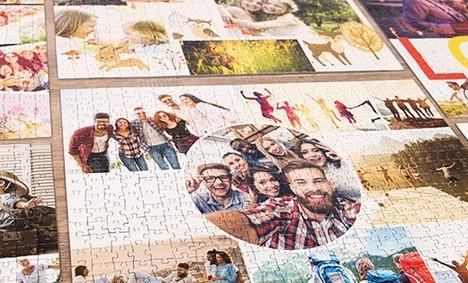 Puzzle Photo Pêle-Mêle