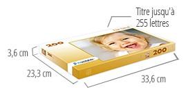 Dimensions de la boîte du puzzle - Puzzle photo 200 pièces