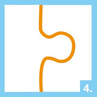 Mode d'emploi de la colle pour puzzle étape 4