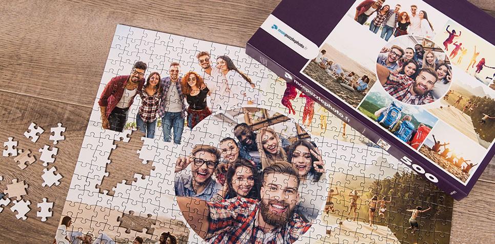 Teaser: Puzzle Photo pêle-mêle avec Grille artistique