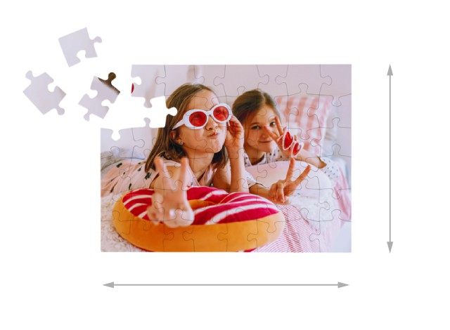 Dimensions du puzzle monté: 48 x 36