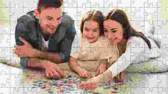 Faire un puzzle permet de passer du temps ensemble