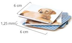 Dimensions des cartes du jeu de mémoire