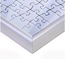 Cadre pour puzzle; Vue détaillée coin