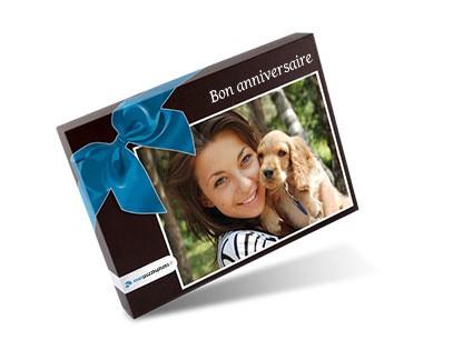 Boîte pour le puzzle photo