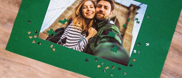 Tapis de puzzle pour votre puzzle photo