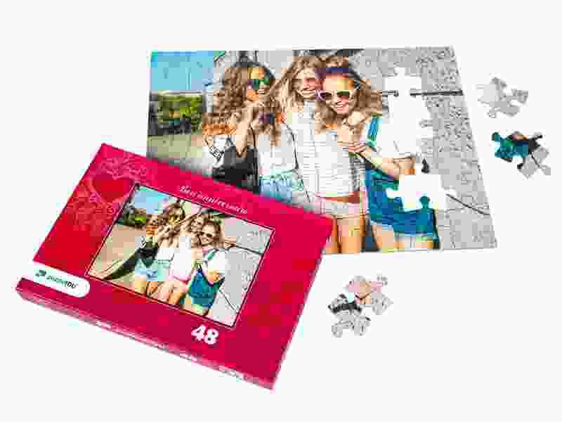 Boîte du puzzle photo 48 pièces