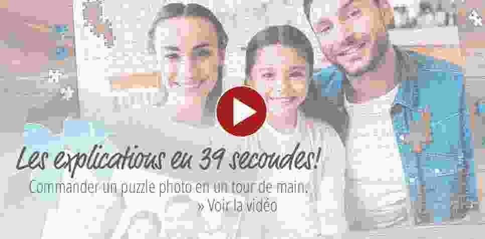 Commande du Puzzle Photo sur vidéo