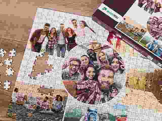 puzzle avec collage de photos