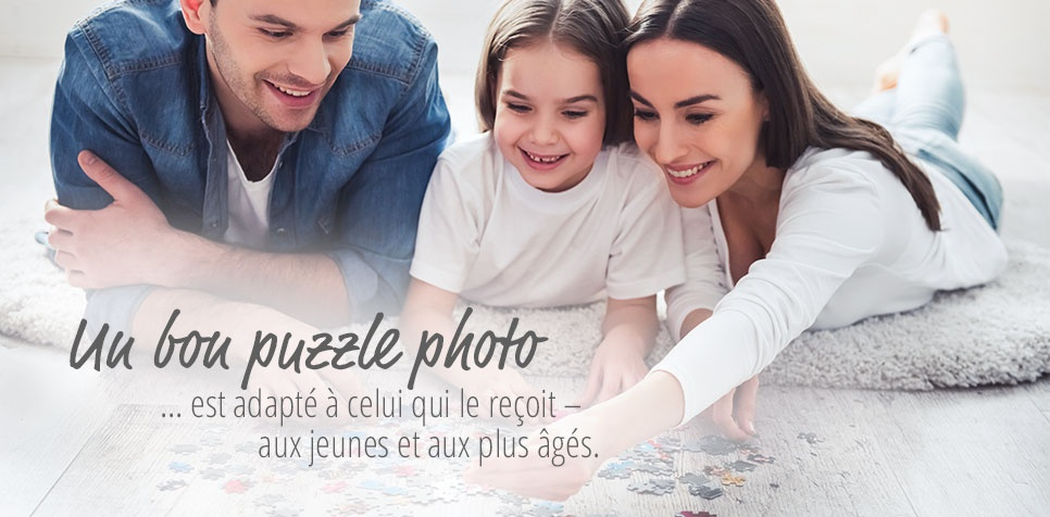 Puzzle Photo: nombreux formats