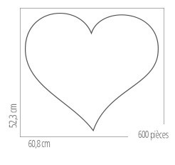Dimensions du cadre pour puzzle