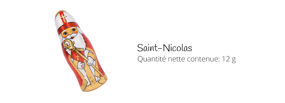 Saint-Nicolas de chocolat