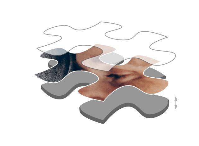 Puzzle photo avec 2000 pièces de carton premium