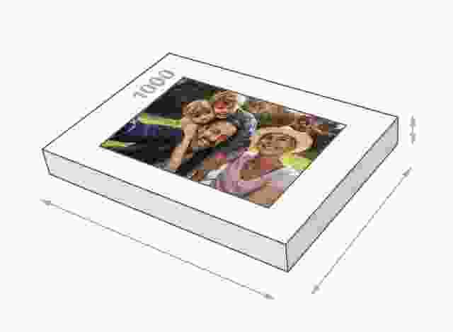 Dimensions de la boîte du puzzle - Puzzle photo 1000 pièces